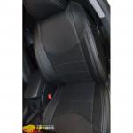 Авточехлы для Toyota RAV-4 III (2006-2012) - кожзам - DYNAMIC Style MW Brothers