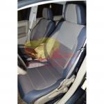 Авточехлы для DODGE CALIBER (2006-2011) с подголовниками - кожзам - Premium Style MW Brothers