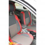 Авточехлы для DAEWOO GENTRA (2013-.....) - кожзам - Premium Style MW Brothers