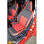 Авточехлы для Toyota YARIS с 2011 - кожзам - Premium Style MW Brothers