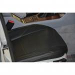 Чехлы на сиденья BMW - 5 (E39) спинка сплошная 1994-2004 - серия AM-S (декоративная строчка) эко кожа - Автомания