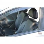 Чехлы на сиденья CHEVROLET - Aveo T-250 2002-2011 - серия AM-S (декоративная строчка) эко кожа - Автомания