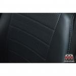 Чехлы на сиденья BMW - 3 (E36) - серия AM-S (декоративная строчка) эко кожа - Автомания
