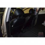 Чехлы на сиденья CHEVROLET - Aveo Т-200 2002-2011 - серия AM-S (декоративная строчка) эко кожа - Автомания