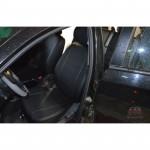 Чехлы на сиденья ЗАЗ - Forza седан 2010 - серия AM-S (декоративная строчка) эко кожа - Автомания