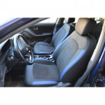 Авточехлы для HYUNDAI ELANTRA 4 (2006-2011) - кожзам + алькантара - Leather Style MW Brothers