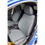 Авточехлы для SUUZUKI SX-4 GL без подлокотника (2014-....) - кожзам - Premium Style MW Brothers