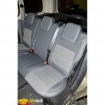 Авточехлы для RENAULT KANGOO II (2008-2013) - кожзам - Premium Style MW Brothers