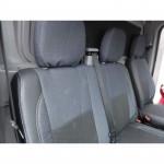 Чехлы сиденья Volkswagen LT35 (1+1) с 1996-2006г фирмы MW Brothers - кожзам