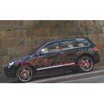 Ветровики VW Touareg 2003 Темный - EGR 4шт