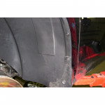 Подкрылок Toyota Camry 07/2006-> (передний левый) (не закрывает 30 см передней части) Novline