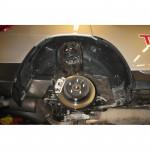 Подкрылок Toyota Highlander, 2010-> (задний левый) Novline