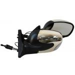 Зеркало боковое YH-3298A/LADA 04,05,07/Black/light/черное с поворотом