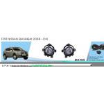 Фары дополнительные модель Nissan Qashqai 2008-/NS-295-W/эл.проводка