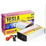 Преобраз. напряжения TESLA ПН-31000/12V-220V/1000W/USB-5VDC0.5A/син.волна/клеммы