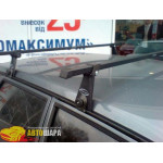 Багажник стальной на водостоки - В-130 - 130 см - Десна Авто