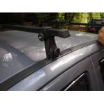 Багажник в штатные места - стальной профиль - Ш-3 - 110 см - Десна Авто