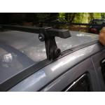 Багажник в штатные места - стальной профиль - Ш-21 - 120 см - Десна Авто