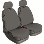Майки универсальные Cotton серый, к-т 2шт. на передние сидения без подголовников BELTEX