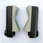 Накладки для крепления рамы в сборе для велокреплений на крышу, 2 шт. Peruzzo 92