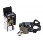 Фонарик диодный налобный Luxury A205 OSRAM 3000W/TK17/3*AAA 1.5V/зум
