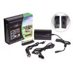 Зарядное-преобразователь для ноутбуков вход 220V/12V выход 15-24V 4A/USB 5V/500mA
