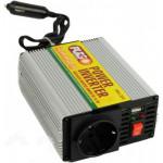 Преобраз. напряжения PULSO/IMU 200/12V-220V/200W/USB-5VDC0.5A/мод.волна/прикуриватель