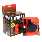 Сигнал возд CA-10355/Еlephant/Compact/12V/красный/color box