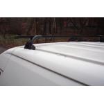 Багажник в штатные места - стальной профиль - Ш-35 - 140 см - Десна Авто