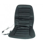 Накидка на сиденье с подогревом черная низкая 12В - Дорожная Карта