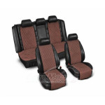 Накидки узкие (комплект) без лого, коричневый - AVTM