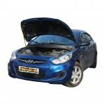 Газовый упор капота для Hyundai Accent 4 2011-2014 1 шт.