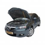 Газовый упор капота для Mazda 3 (1g) 2003-2009 1 шт.
