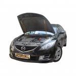 Газовый упор капота для Mazda 6 (2g) 2007-2013 2 шт.