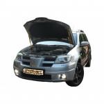 Газовый упор капота для Mitsubishi Outlander 1 (2у) 2003-2008 2 шт.