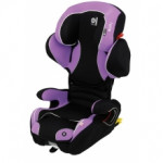 Автокресло крепление isofix kiddy cruiserfix pro Lavender  soft-tex