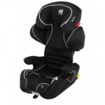 Автокрісло кріплення isofix kiddy cruiserfix pro Racing Black soft-tex