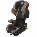 Автокресло крепление isofix kiddy cruiserfix pro Walnut  soft-tex