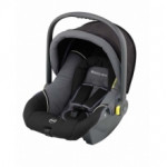 Автолюлька kiddy nest Black/grey soft-tex