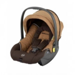 Автолюлька kiddy nest Brown microvelour