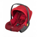 Автолюлька kiddy nest Red microvelour