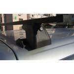 Багажник Amos C 15 Plus - черная квадратная поперечина 1,2м