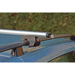 Багажник на рейлинги Amos Alfa с аэродинамическим профилем 130 см