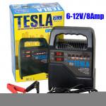 Зарядное устр-во TESLA ЗУ-10642 12V/4A/10-60AHR/светодиодн.индик.
