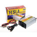 Преобраз. напряжения TESLA ПН-22300/12V-220V/300W/USB-5VDC0.5A/мод.волна/прикуриватель/клеммы
