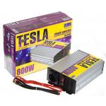 Преобраз. напряжения TESLA ПН-22800/12V-220V/800W/USB-5VDC0.5A/мод.волна/клеммы