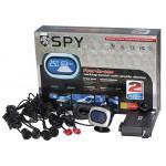 Парктроник SPY LP-016/4 датчика/LCD/2 термометра+календарь+датч.алкоголя/коннектор/grey/black