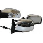 Зеркало боковое YH-3107A/LADA 04,05,07/Chrome/light/хром с поворотом