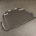Коврик в багажник Nissan Almera (classic) (06-) твердый Norplast