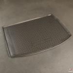 Коврик в багажник Reno Megane III хетчбек (10-) резиновые Norplast